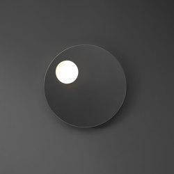 Shadow - polished edge becklitLED light round mirror | Bath mirrors | NIC Design