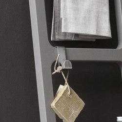 Oltre steel robe hook or bath ladder | Towel rails | NIC Design
