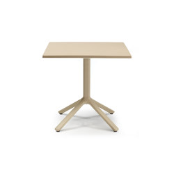 Eco fixed | 80x80 | Dining tables | Scab Design