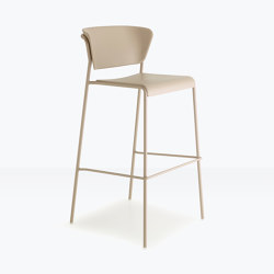 Lisa technopolymer Go Green barstool | Bar stools | SCAB Design