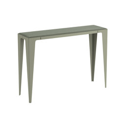 |chamfer| Console Lavender-Leaf-Green | Console tables | WYE