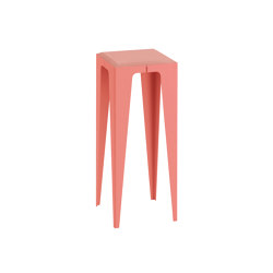 |chamfer| Side Table Calypso-Red | Side tables | WYE