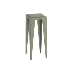 |chamfer| Side Table Lavender-Leaf-Green | Side tables | WYE