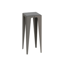 |chamfer| Side Table Slate-Black | Side tables | WYE