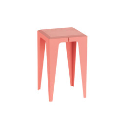 |chamfer| Stool Calypso-Red | Side tables | WYE