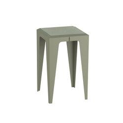 |chamfer| Stool Lavender-Leaf-Green | Side tables | WYE