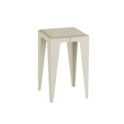 |chamfer| Stool Silk-Grey | Tables d'appoint | WYE