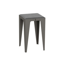 |chamfer| Stool Slate-Black | Side tables | WYE