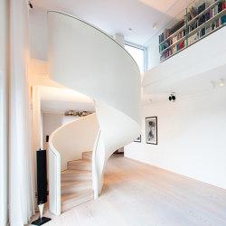 Tornado Frankfurt | Staircase systems | Siller Treppen