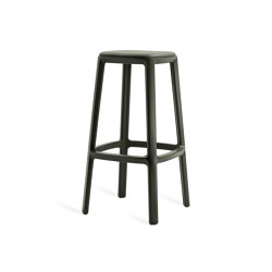 Cadrea | High Stool with Upholstery | Bar stools | TOOU