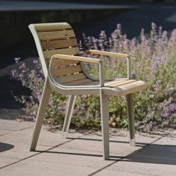 emau solo | park bench with backrest | Chairs | mmcité