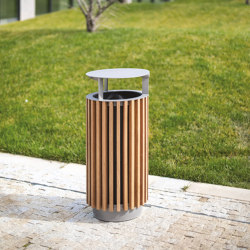 quinbin | litter bin with rain cover | Waste baskets | mmcité