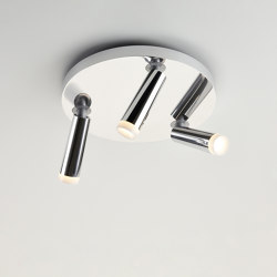 CLEAR TRIO ALU POL/GLOW | Ceiling lights | Tobias Grau