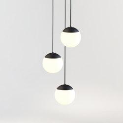 PALLA 16 RAIN 3 BLACK | Lámparas de suspensión | Tobias Grau