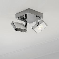 STUDIO DUO ALU POL/WHITE | Ceiling lights | Tobias Grau