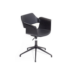 Flagship height-adjustable swivel armchairs | Stühle | PlyDesign