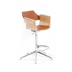 Flagship high armchair | Taburetes de bar | PlyDesign