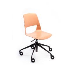 Frigate height-adjustable swivel chair | Sedie | PlyDesign