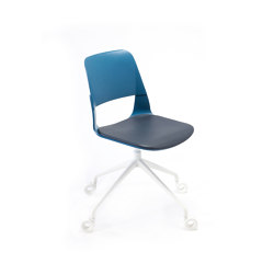 Frigate Chair with swivel base and castors | Sedie | PlyDesign