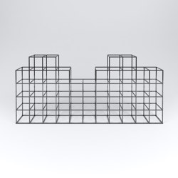 iPot Structure 7x7 D | Shelving | ipot