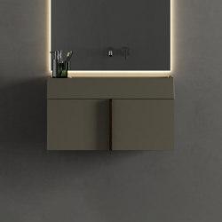 Paral Collection - Set 3 | Vanity units | Inbani