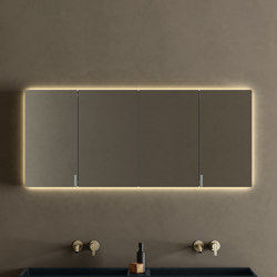 Paral Collection - Set 6 | Mirror cabinets | Inbani