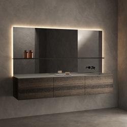 Grate Collection - Set 5 | Bath mirrors | Inbani