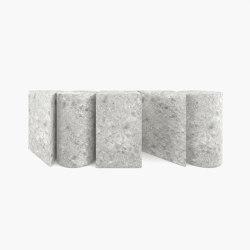 CONSOLE – FS 006-2  Ceppo Di Gre Marble, Grey | Mesas consola | RECHTECK FELIX SCHWAKE