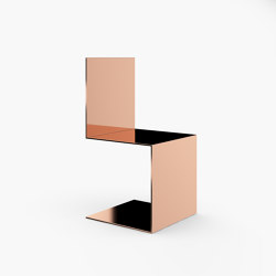 CANTILEVER CHAIR – FS 423 Rosé Gold   Sedie   RECHTECK FELIX SCHWAKE