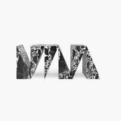 CONSOLE – FS 54 Grand Antique Marble, White-Black | Console tables | RECHTECK FELIX SCHWAKE
