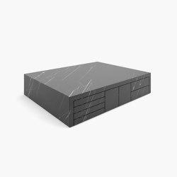 ZENTRALER TISCH – FS 68 Nero Marquina Marble, Black   Couchtische   RECHTECK FELIX SCHWAKE