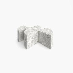 ZENTRALER TISCH – FS 79 Ceppo Di Gre Marmor, Grau   Couchtische   RECHTECK FELIX SCHWAKE