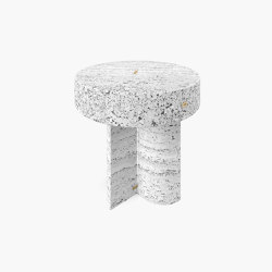 SIDE TABLE – FS 129-1  Travertine | Side tables | RECHTECK FELIX SCHWAKE
