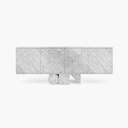SIDEBOARD – FS 151-A  Travertin | Sideboards / Kommoden | RECHTECK FELIX SCHWAKE