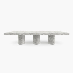 DINING TABLE – FS 173 Ceppo Di Gre Marble, Grey   Dining tables   RECHTECK FELIX SCHWAKE