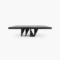 DINING TABLE – FS 174-B  Portoro Gold Marble, Black-Gold   Dining tables   RECHTECK FELIX SCHWAKE