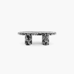 DINING TABLE – FS 177 Grand Antique Marble, White-Black | Dining tables | RECHTECK FELIX SCHWAKE