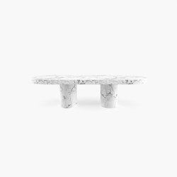 DINING TABLE – FS 178 Arabescato Marble, White | Dining tables | RECHTECK FELIX SCHWAKE