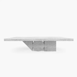 DINING TABLE – FS 190 Travertine | Dining tables | RECHTECK FELIX SCHWAKE