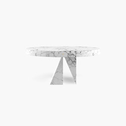 DINING TABLE – FS 194-D  Arabescato Marble, White | Dining tables | RECHTECK FELIX SCHWAKE