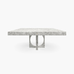 DINING TABLE – FS 194-H  Ceppo Di Gre Marble, Grey   Dining tables   RECHTECK FELIX SCHWAKE