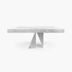 DINING TABLE – FS 194-I  Travertine | Dining tables | RECHTECK FELIX SCHWAKE