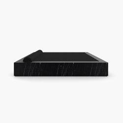 BED – FS 400 Nero Marquina Marble, Black | Beds | RECHTECK FELIX SCHWAKE