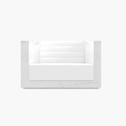 ARMCHAIR – FS 403 Calacatta Marble, White | Armchairs | RECHTECK FELIX SCHWAKE