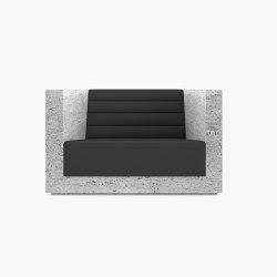 ARMCHAIR – FS 403 Travertine | Armchairs | RECHTECK FELIX SCHWAKE