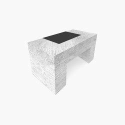 DESK – FS 418-3  Travertine   Desks   RECHTECK FELIX SCHWAKE