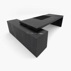 DESK – FS 419 Nero Marquina Marble, Black   Desks   RECHTECK FELIX SCHWAKE
