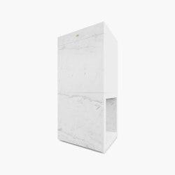 LECTERN – FS 425 Calacatta Marble, White   Lecterns   RECHTECK FELIX SCHWAKE