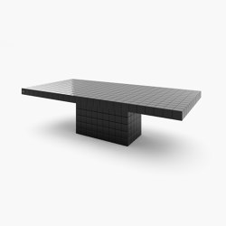 DINING TABLE – FS 427 Black Lacquer   Dining tables   RECHTECK FELIX SCHWAKE