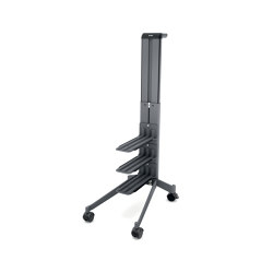 """Workplace"" Office Caddy, one-sided, mobile pedestal 